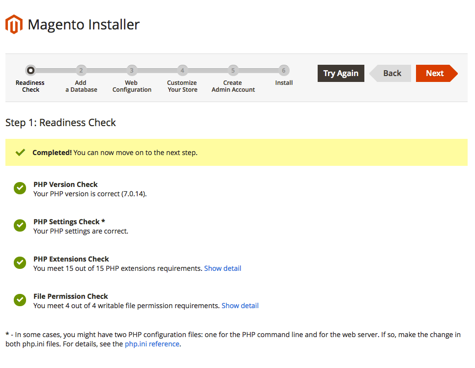 How to install Magento