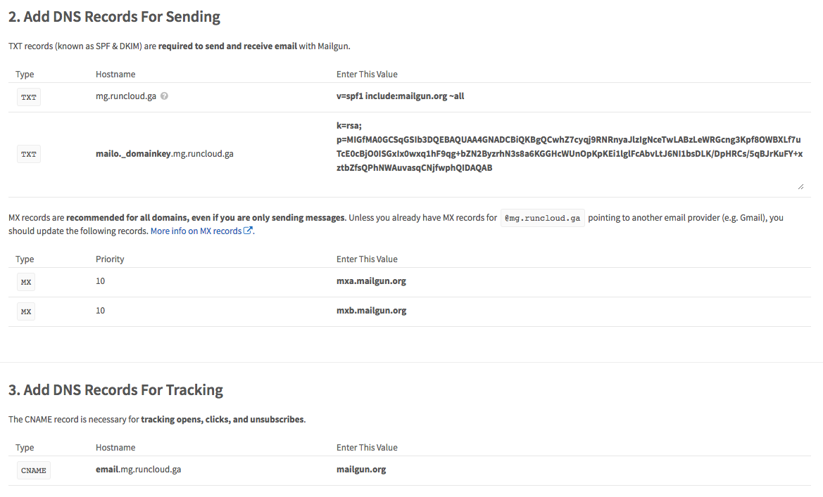 Using Mailgun To Send Transactional Email From WordPress - RunCloud