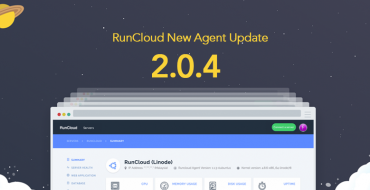 RunCloud New Agent Update 2.0.4