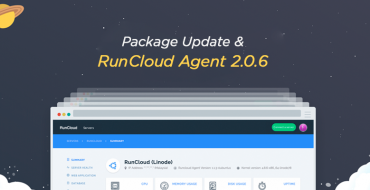 Package Update and RunCloud Agent 2.0.6