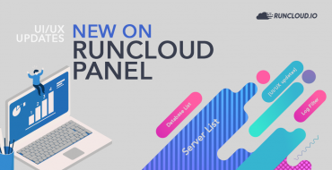 New on RunCloud Panel: Server List, Log Filter, Database List