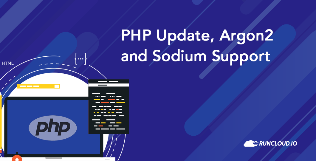 PHP Update, Argon2 and Sodium Support