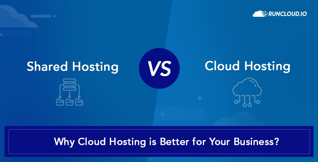 Cloud Hosting vs Shared Hosting: Why Cloud Hosting is Better for Your Business?