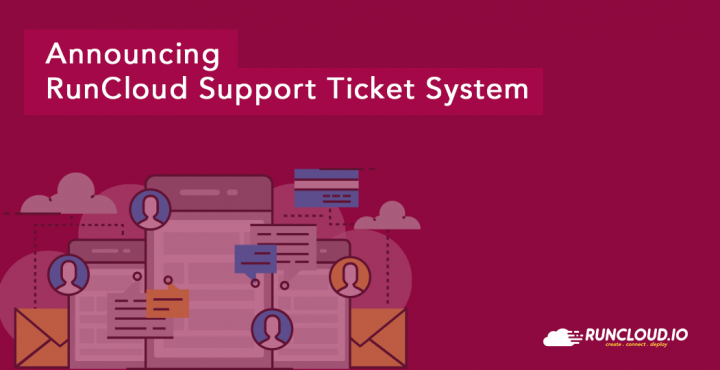 RunCloud support ticket system