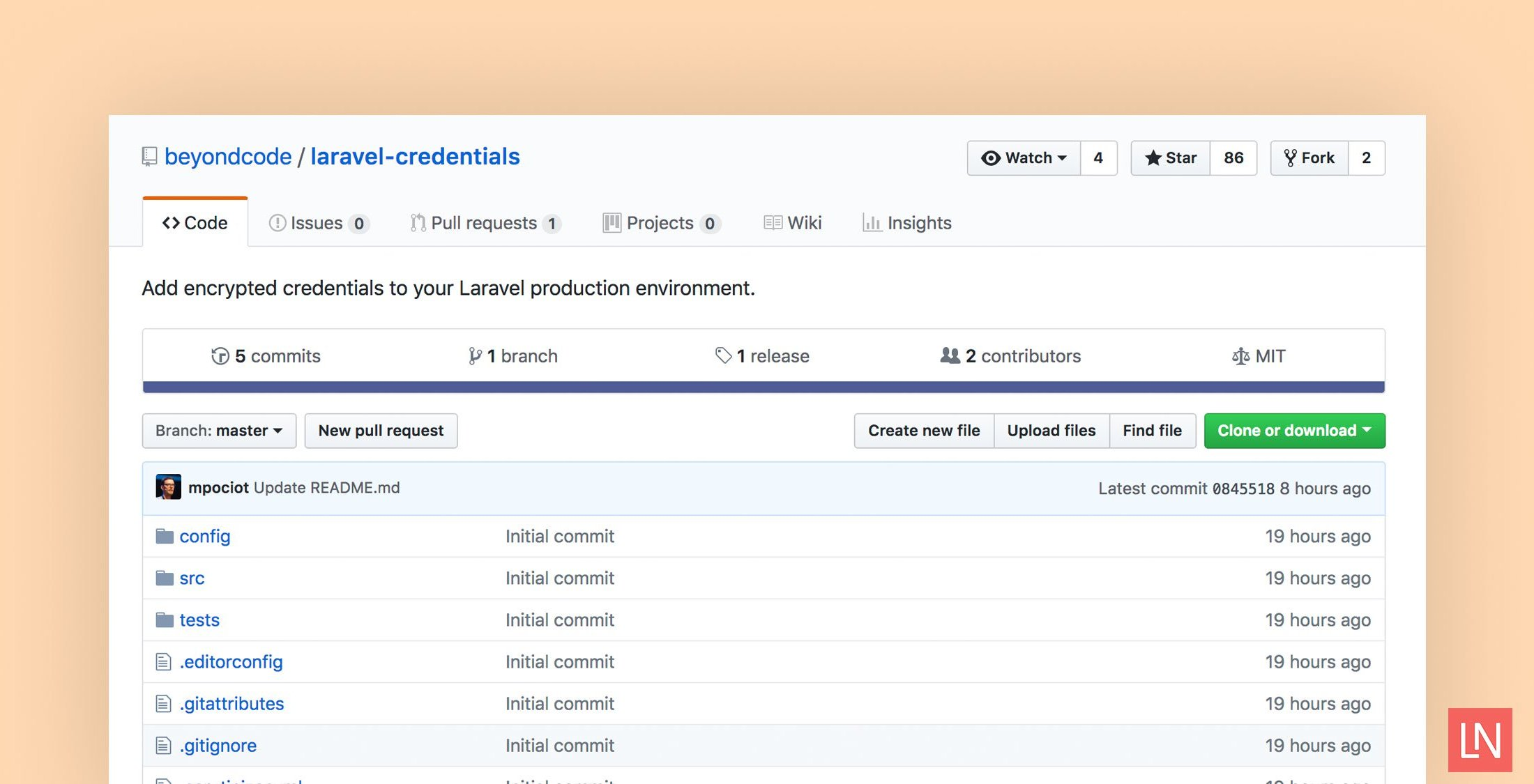 Laravel Credentials Package for Encrypted Application Secrets