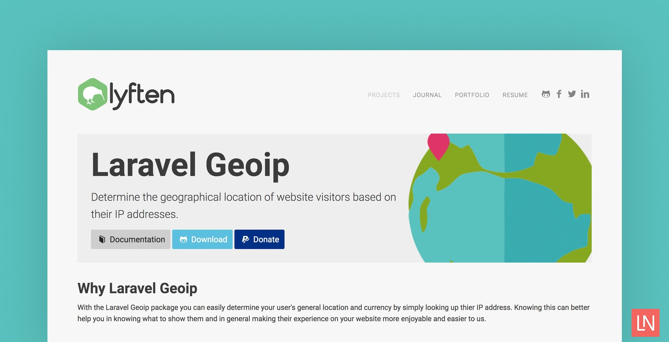 Use Laravel GeoIP to Determine Users' Geographical Location