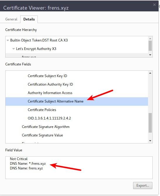 check wildcard ssl certificate using certificate viewer