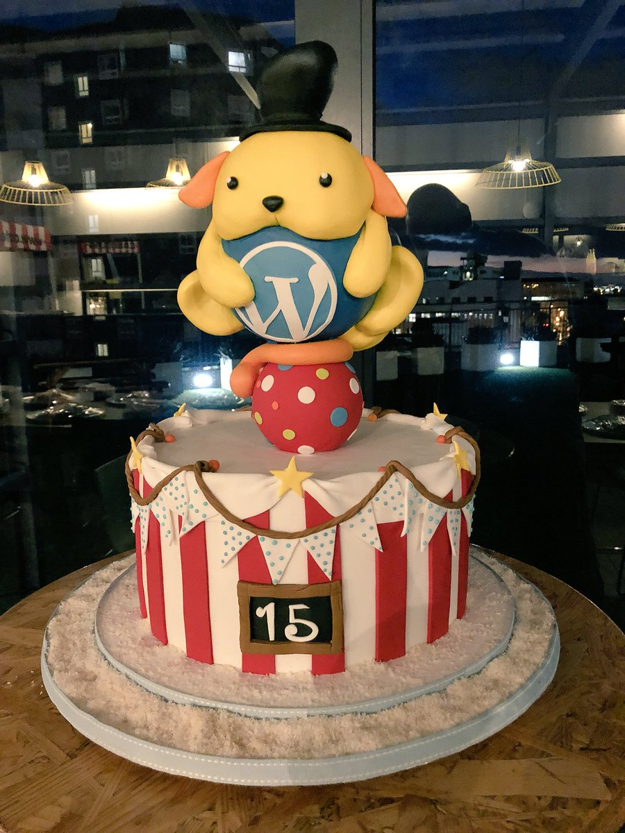 The first release of WordPress turns 15 years old.