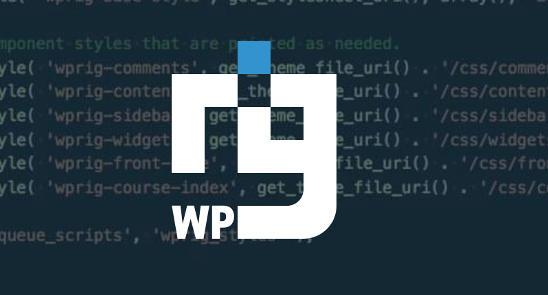 WP Rig – A WordPress Starter Theme and Build Process in One