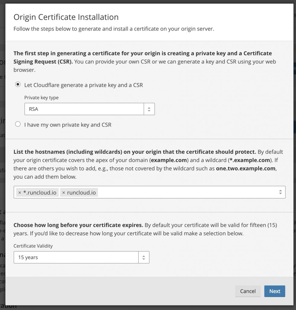 Fixing Redirect Loop on Cloudflare SSL - RunCloud