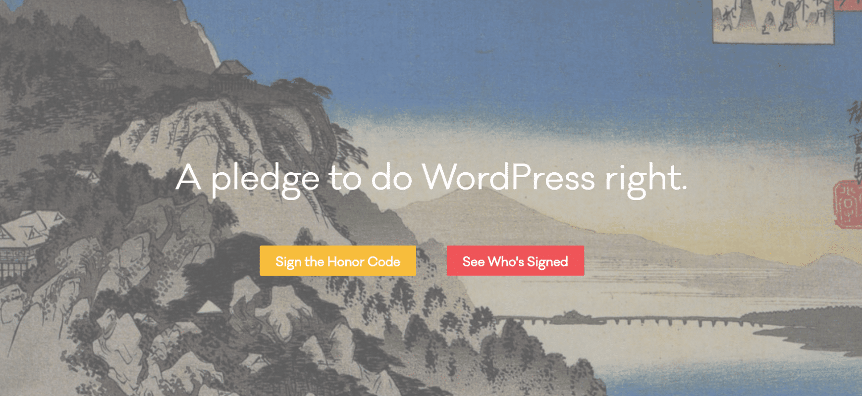 You Can Now Sign the WordPress Developer Honor Code