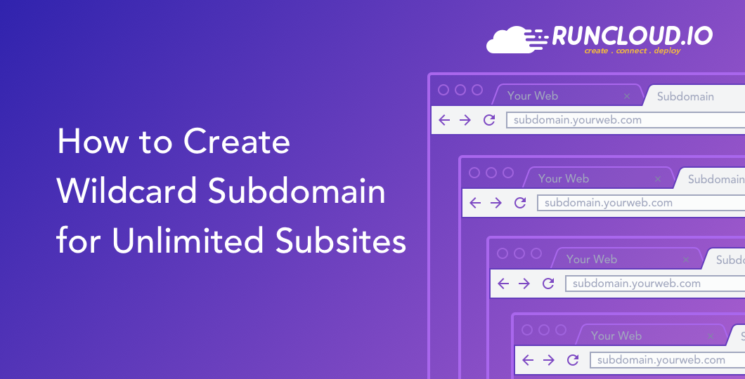 How to Create Wildcard Subdomain for Unlimited Subsites