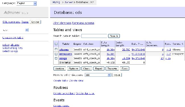 Alternatif Database