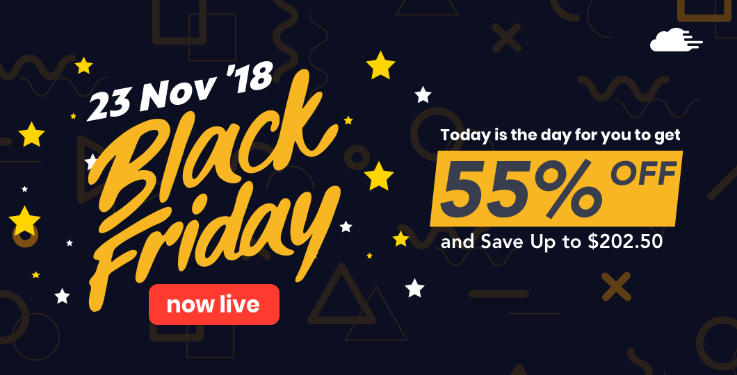 Black Friday Now on RunCloud by 23 Nov 2018 Offers Up to $202 OFF