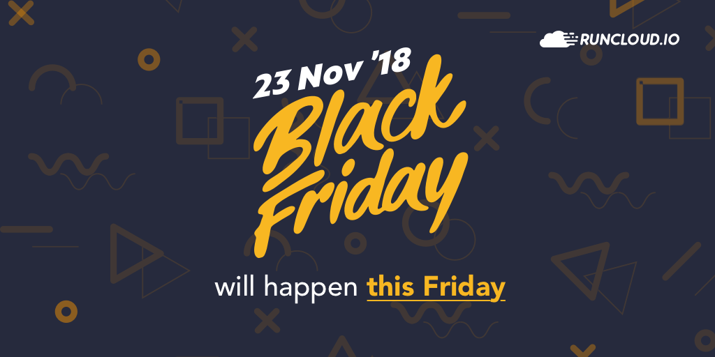 black friday happening now