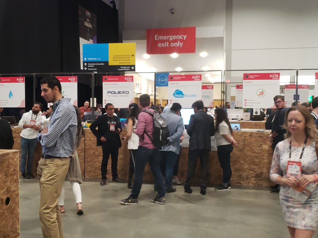 Alpha Startups at CollisionConf 2019