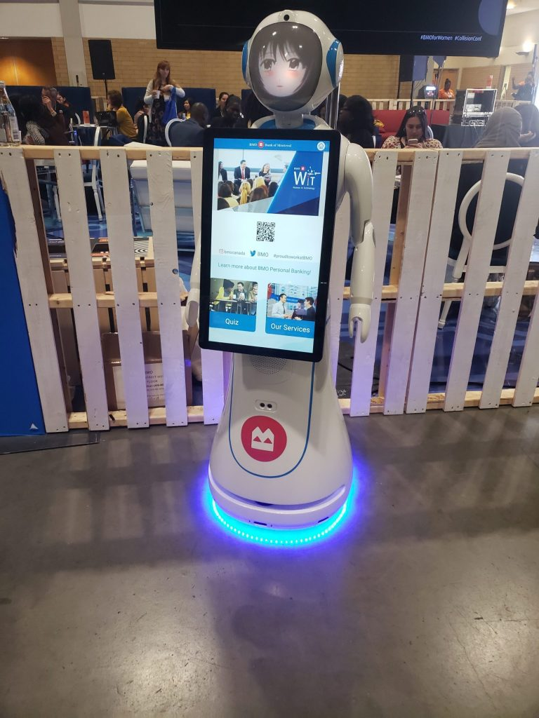 Intelligence Robot at CollisionConf 2019