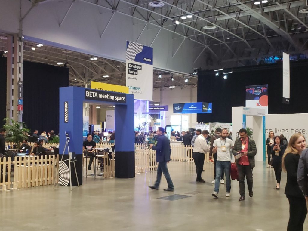 The Beta Meeting Space at CollisionConf 2019