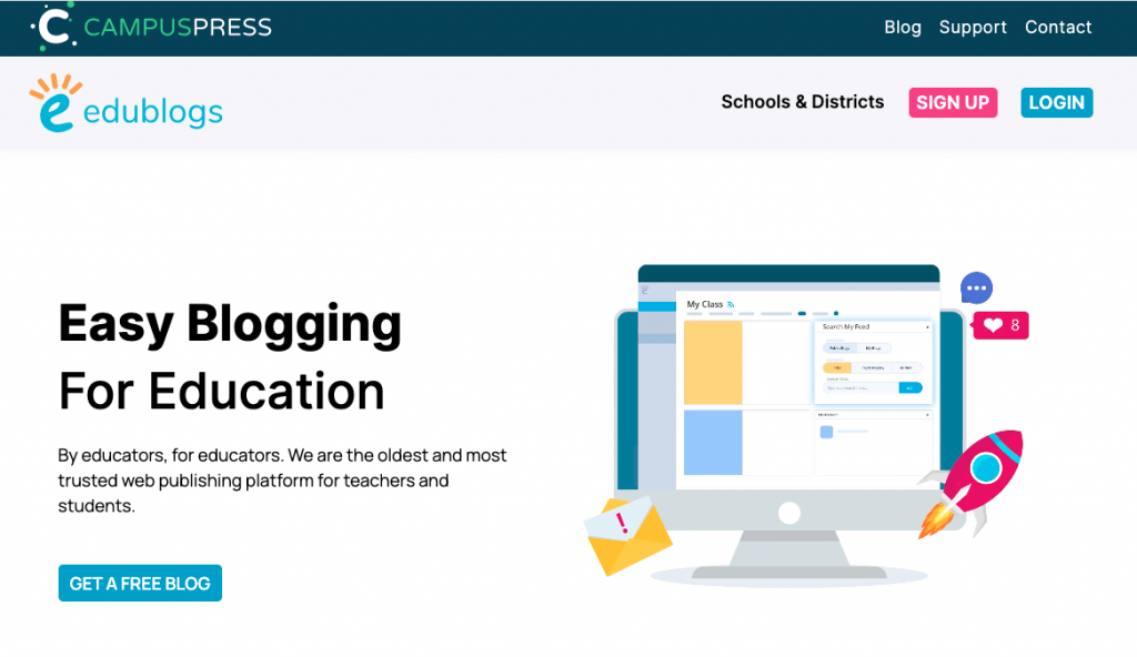 Incsub's Edublogs WaaS Multisite Platform