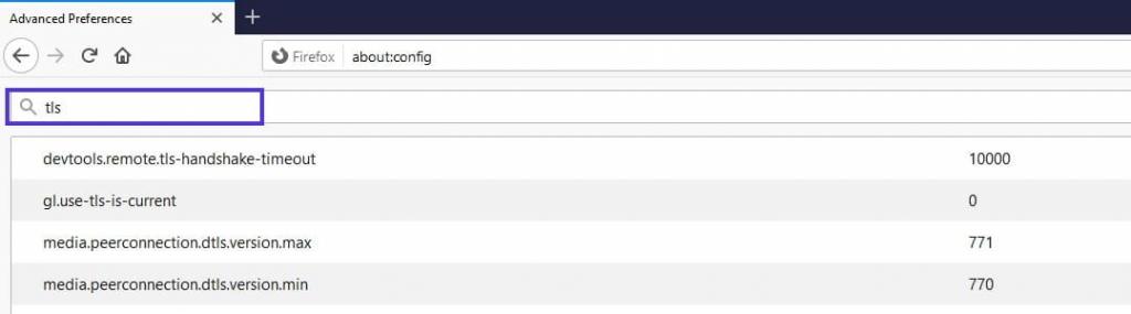 advanced preferences error code solution