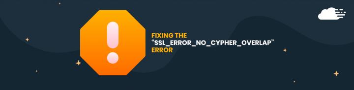SSL No Cypher Overlap