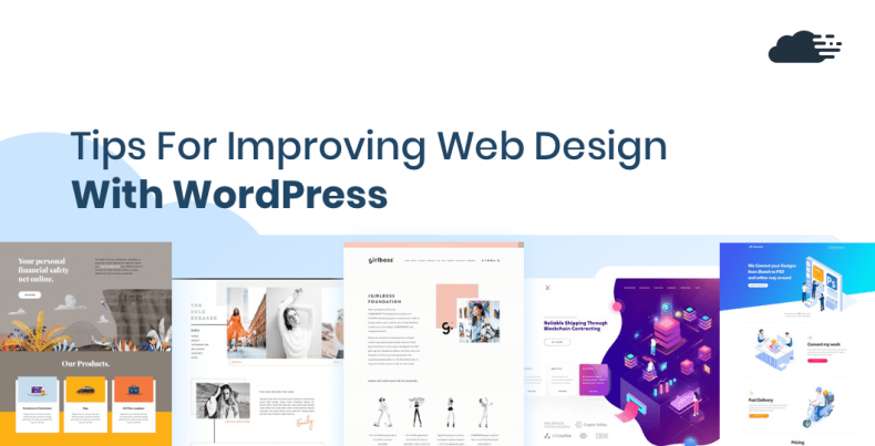 TIps for improving web design with wordpress